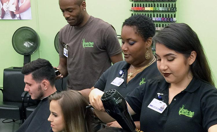 Cosmetology program at CCTC
