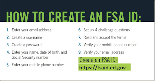 How to Create an FSA ID