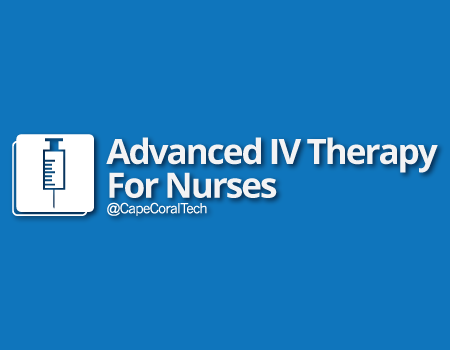 Advanced IV Therapy for Nurses